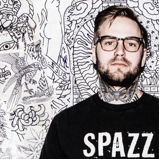 Joel Soos. From a travelling tattoo artist to Co-owner of Sanctum Tattoo, with 1000 tattoos in between.